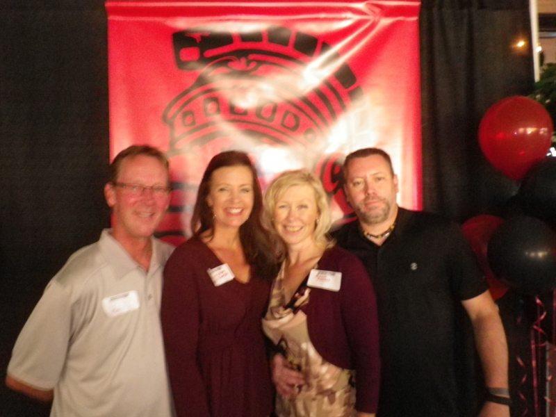 Chris and Kim Kanter and Jason and Rebbecca Ehret